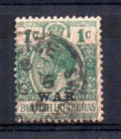 British Honduras - 1916 - 1 Cent War Tax - Used - British Honduras (...-1970)