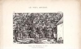 1874 - Gravure Sur Bois - Amiens - Cloître Des Machabées En 1825 - FRANCO DE PORT - Prints & Engravings