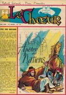LE CHOEUR N° 147 De Janvier 1960 REVUE PIEUSE Illustrée Pierre BROCHARD Apôtre Des Nations La Belle Vie De La Ste Vierge - Religion