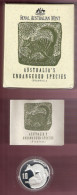 AUSTRALIE 10 DOLLARS 1995 SILVER PROOF PIEDFORT NUMBAT ORIGINAL PACKED - Monnaie Décimale (1966-...)