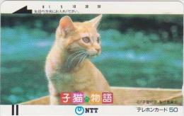 "JAPAN - 390-030 - ""A Kitten's Tale"" (Ginger Kitten) - Iii - FRONTBAR - BARCODE - Japan"
