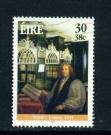 IRELAND  -  2001  Marsh's Library  30p  Used As Scan - 1949-... Republic Of Ireland