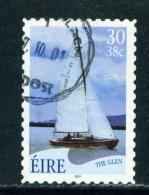 IRELAND  -  2001  Yachts  30p  Self Adhesive  Used As Scan - Usati