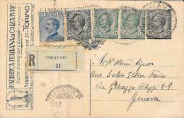 [DC5445] INTERO POSTALE - FABBRICA ITALIANA DI CALZATURE - TORINO - Viaggiata 1931 - Old Postcard - Cartoline