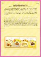 CHINA CHINE TAIWAN - 2013 - Délice De Taiwan Delicatcies Recto - 1945-... République De Chine