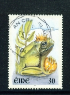 IRELAND  -  2000  Greetings  Frog Prince  30p  Used As Scan - 1949-... Republic Of Ireland