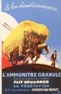 L'Amonitre Granulé Fait Démarrer La Végétation - Le Bon Cheval Démarre Et Tire - ONIA - Agricultura