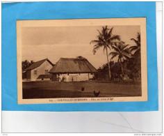 NOUVELLE HEBRIDES-chez Un Colon D'api-une Ferme Animée-années 1910-20-édition EB - Vanuatu