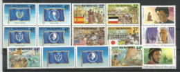Années 1987-1988-1989.   15 T-p Neufs **  Côte  20.00 € (série Colonisation Par L'Espagne,allemand,americain & Japonais) - Micronésie