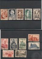 FRANCE  1947 N° Y&T : 772/792 Oblitérés Côte : 25,00 € - Gebraucht