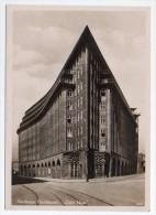 Germany Hamburg Chile Haus Expresionist Boulding By Mendelshon Ca 1920 Photo Vintage Original Postcard Cpa Ak (W4_782) - Deutschland