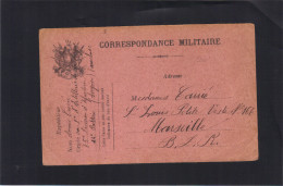 Carte En Franchise Militaire . 0ctobre 1914. - Postmark Collection (Covers)