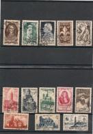 FRANCE  1947 N° Y&T : 772/776-779-784/790 Oblitérés Côte : 19,50 € - Gebraucht