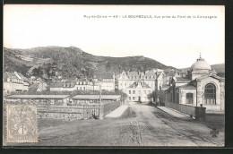 CPA La-Bourboule, Vue Prise Du Pont De La Compagnie - La Bourboule