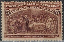 Etats-Unis - 1893 - Y&T N° 85, Neuf Sans Gomme - Unused Stamps