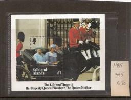 FALKLAND Bloc-feuillet Neuf ** De 1985  ( Ref1955 ) - Falkland