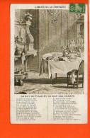 Fables De La Fontaine  - Le Rat De Ville Et Le Rat Des Champs....Editions A. Quantin - Contes, Fables & Légendes