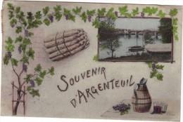 SOUVENIR D'ARGENTEUIL - Argenteuil