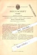 Original Patent - Oscar Linke In Glogau / Glogow Und Posen , 1882 , Knopfkrawatten-Schlösser , Krawatte !!! - Documents Historiques