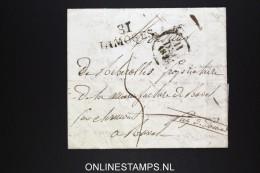 France Lettre 1829 31 Limoges A Ravel - Marcophilie (Lettres)