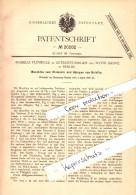 Original Patent - Andreas Plümecke In Osterweddingen B. Sülzetal ,1882, Maschine Zum Stempeln Von Briefen , Post , Brief - Maschinen