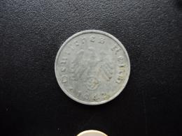 ALLEMAGNE : 10 REICHSPFENNIG  1942 G  KM 101  TTB / VF