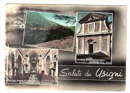 VR242 CARTOLINA PERUGIA SALUTI DA USIGNI VEDUTE VEDUTINE - Perugia