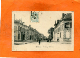 ORLEANS  /  1907 /   FAUBOURG MADELEINE   /  CIRC OUI   / EDIT - Orleans