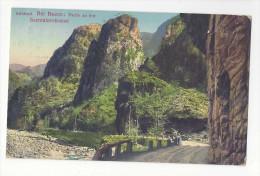 Austria Tyrol Alps Sudtirol Sarntalerstrasse Bei Bozen Bolzano Vintage Postcard - Austria