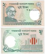 Bangladesh 2 Taka 2013 Pick-52-c UNC Ref 147-1 - Bangladesh
