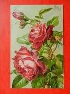 CPA  Fleurs   ROSES  Illustrateur Millot - Non Classés