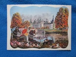 Chateaux De La Loire. Chambord. Editions Gaby 16 (Gabriel Artaud). Dessin Charles Homualk. - Châteaux