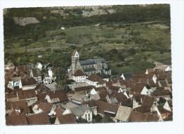 CPSM COLORISEE Gueberschwihr, VUE AERIENNE, HAUT RHIN 68 - France