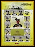 (255) Malaysia / Malaisie  New Sultan / Royalty / Neuer Sultan  ** / Mnh  Michel 1938-51 In Folder - Malaysia (1964-...)