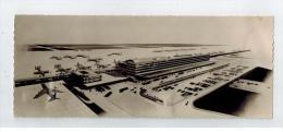 "ORLY AEROPORT "" Installations Terminales Futures Vers 1955/56 - Aerodrome"
