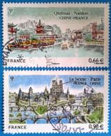 France 2014  : Emission Commune France-Chine N° 4847 à 4848 Oblitérés - Frankreich