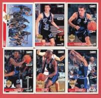 Lyon - Panini - Lot 6 Cartes Basket - LNB 1994/95 - Altri