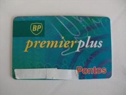 Card BP Mobil Premier Plus Combustibles Portugal Portuguese - Autres