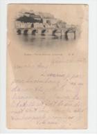 Namur - Vue Du Pont Avec La Citadelle - Circule 1897 - Namur