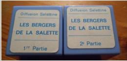 """FILMS FIXES . """" Les Bergers de la Salette """" - Diffusion Salettine - 2 bobines"""