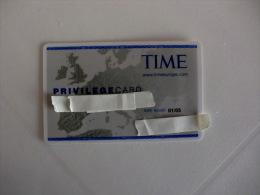 Card Time Privilegecard - Altre Collezioni