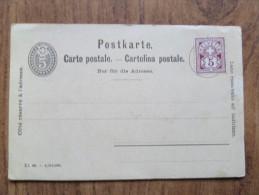 42221 POSTCARD: SWITZERLAND: Blank Postcard With Helvetia 5 Postage Stamp. - Autres