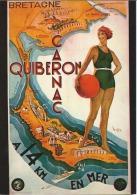 Carnac Quiberon - A 14 Km En Mer - Quiberon
