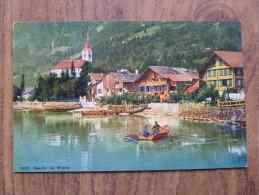 42226 PC: SWITZERLAND: BE-BERNE: Seeufer Bei Brienz. - BE Bern