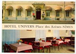 30 - NIMES - HOTEL UNIVERS - 16 Place Des Arênes - Nîmes