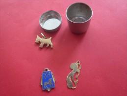 Pendentif Bijoux Fantaisie Caniche Chien Signe Du Zodiaque  Belier Poissons Dans Petite Boite Alu -->>> Voir Le - Pendants