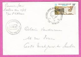 BELGIQUE BELGIUM - 1983 - Courrier Par Ballon - Mail Balloon -  Luftschiff Post - Belgien