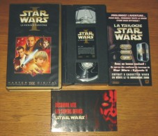 Cassette Vidéo Star Wars I La Menace Fantôme - Sci-Fi, Fantasy