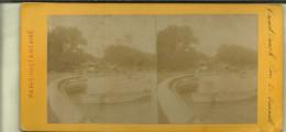 PARIS   CARTE STEREO  GRAND CANAL PARC DE VERSAILLE - Stereoscopische Kaarten