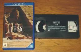 Cassette Vidéo Doc Cousteau Le Nil - Documentary